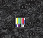 TV, Sketch Wallpaper by davy005