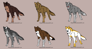 Wolf Pack by Kama9