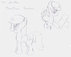 Four Block - Sketches (By Dr. Radical) by Nerd-Pony