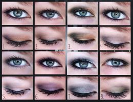 Winter 2012 Makeup Collection by yay-party