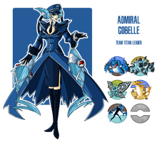 Fakemon: Team Titan Leader - Cobelle by MTC-Studio