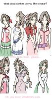 Aerith says Cute Things by IllusionedTime