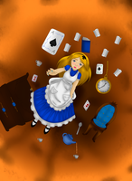 Down the Rabbit hole by AnnoyedGirl