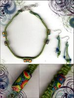 macrame necklace by DesignsGP