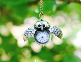 Owl time l by FrancescaDelfino