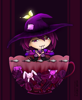 TS - violette's cup of tea by silverei