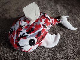 Goldfish Tissue Box Cover by Seamarie