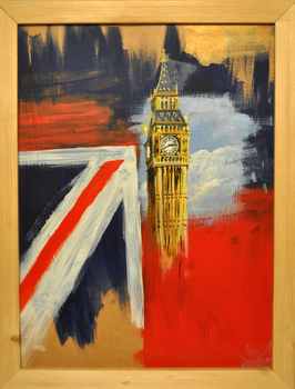 Big Ben Patriotism by pencilandpaperaddict