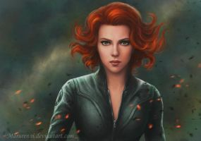 Black Widow by marurenai