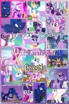 My little pony: The Royal Four by PrincessEmerald7