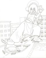 Giantess Toph - Original by XxSumRaNdOmGuYxX