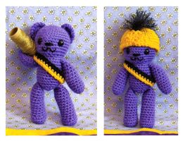 Bazooka Bear Amigurumi by Sparrow-dream