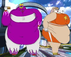 Plus size Riders Wave and Cream by Masked-Charizard