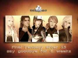 Goodbye for 6 weeks by SerenaKaori87