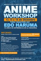 Anime Workshop 2013 (poster) by titanomaquia