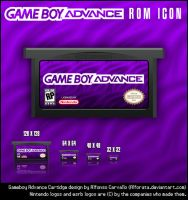 Gameboy Advance Rom Icons by Alforata