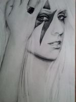 lady gaga by sheilashelton