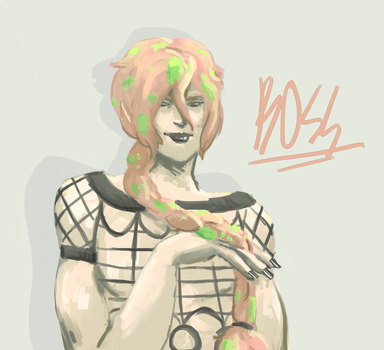 diavolo with a braid???? by Baambooki