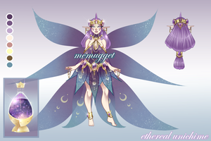 Ethereal Unichime Adopt Sold by McMugget