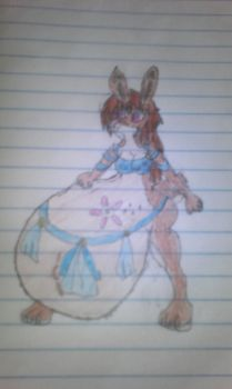 Halla the tribe bunny by megamanfan43