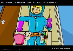 My Name Is Hannelore Ellicott-Chatham by Lexxyzgraphix