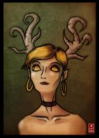 Horned Lady by Sylvant