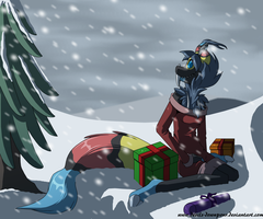 Merry Christmas Tree by Devils-DownPour