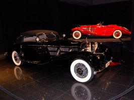 pair of Mercedes Benz 540K by Partywave
