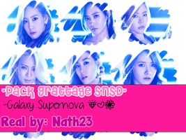 Pack Grattage SNSD (Galaxy SuperNova) by nath23