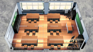 [DL] MMD School Crafts Room Stage by Maddoktor2