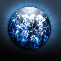 blue orb by MarcosRodriguez
