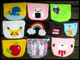 Happy Pouches by pookat