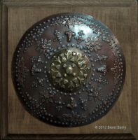 Viking Copper Disc 2 by Vegvisir