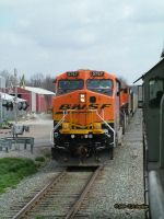 BNSF 5767 at Gentry Arkansas by labrat-78