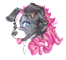 .::Brynn Badge::.COPICS. by TeaBunnyy