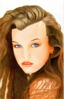 Young Milla Jovovich by MayFong