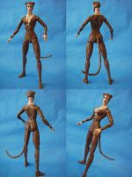 Custom 12 inch Cheetah Figure Full View by cusT0M