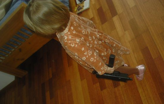 Black Gun and Pink Slippers by Sionil