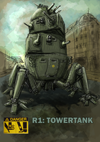R1 Towertank by Bristow-Bailey