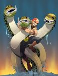 Wrasslin' with the Hydra by universe-K