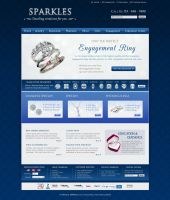 Jewelry Website Design by ujala