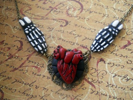 Eternal love necklace by rude-and-reckless