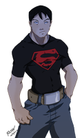 young justice superboy by pain16