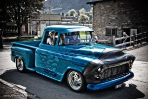 Ghost Flame Truck by AmericanMuscle