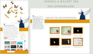 CSS skins for ChewedKandi by LineBirgitte