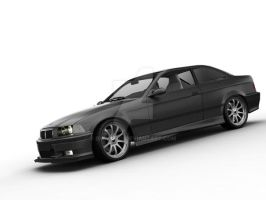 BMW M3 black by bmw325ci