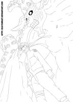 Naruto 570 Lineart - Recharged by CkayShirley