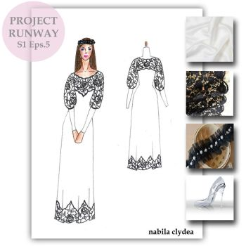 Project Runway Season 1 Episode 5 by nabilaclydea