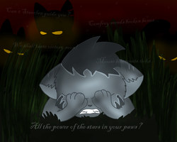 Can't StarClan guide you? by Flaamez