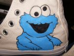 Cookie Monster shoe 3 by anitaconda
